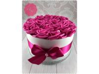 Ciklámen rózsadoboz