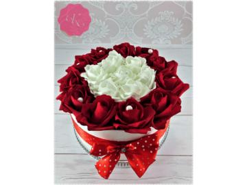 Piros - Fehér rózsadoboz 1.0